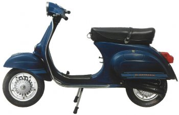Vespa 125 Primavera ET3 1976 links
