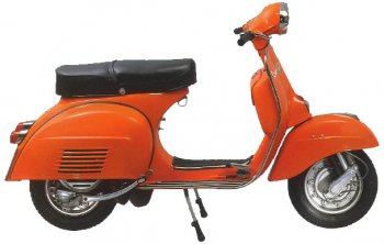 Vespa Rally 180 links